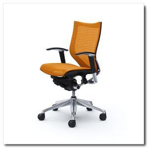 オカムラ オフィスチェア バロン スタンダードメッシュ ローバック アジャストアーム ポリッシュフレーム|chairkingdom