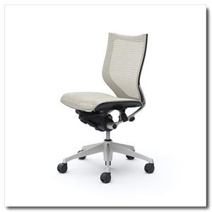 オカムラ オフィスチェア バロン スタンダードメッシュ ローバック 肘なし シルバーフレーム|chairkingdom