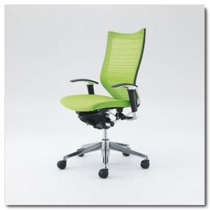オカムラ オフィスチェア バロン グラデーションサポートメッシュ ハイバック アジャストアーム ポリッシュフレーム|chairkingdom