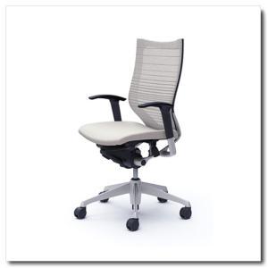オカムラ オフィスチェア バロン グラデーションサポートメッシュ ハイバック アジャストアーム シルバーフレーム|chairkingdom