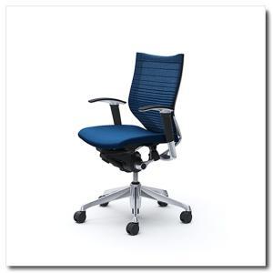オカムラ オフィスチェア バロン グラデーションサポートメッシュ ローバック アジャストアーム ポリッシュフレーム|chairkingdom