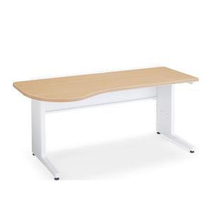 コクヨ 診察デスク インフォントiシリーズ(INFONT i) 天板ラウンドタイプデスク W1600...