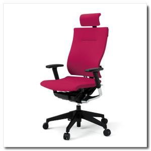 イトーキ オフィスチェア スピーナ クロスバッククロスシート エクストラハイバックアジャスタブル肘付 ベースカラーブラック KE-727GP-T1|chairkingdom