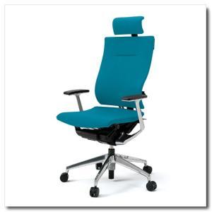 イトーキ オフィスチェア スピーナ クロスバッククロスシート エクストラハイバックT型固定肘付 ベースカラーアルミミラー KE-725GP-Z9|chairkingdom