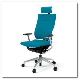 イトーキ オフィスチェア スピーナ クロスバッククロスシート エクストラハイバックT型固定肘付 ベースカラーシルバー KE-725GP-Z5|chairkingdom