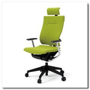 イトーキ オフィスチェア スピーナ クロスバッククロスシート エクストラハイバックT型固定肘付 ベースカラーブラック KE-725GP-T1|chairkingdom