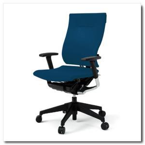 イトーキ オフィスチェア スピーナ クロスバッククロスシート ハイバックアジャスタブル肘付 ベースカラーブラック KE-717GP-T1|chairkingdom