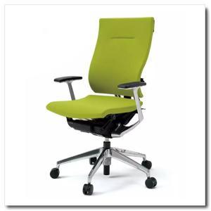 イトーキ オフィスチェア スピーナ クロスバッククロスシート ハイバックT型固定肘付 ベースカラーアルミミラー KE-715GP-Z9|chairkingdom