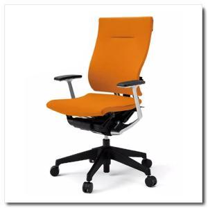 イトーキ オフィスチェア スピーナ クロスバッククロスシート ハイバックT型固定肘付 ベースカラーブラック KE-715GP-T1|chairkingdom