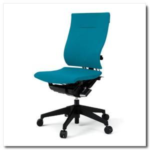 イトーキ オフィスチェア スピーナ クロスバッククロスシート ハイバック肘なし ベースカラーブラック KE-710GP-T1|chairkingdom