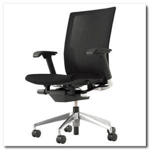 イトーキ オフィスチェア ヴェント ストライプレイヤーファブリック ハイバック アジャスタブル肘付 ベースカラー アルミミラー|chairkingdom