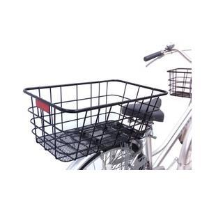 自転車 リアスーパージャンボバスケット リアカ...の詳細画像1