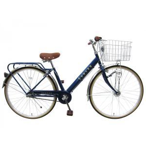27インチ 自転車 高校生  LEDオートライト 通勤 通学 本州送料無料 シティサイクル ルーバン シマノ3段変速 自転車|chalinx