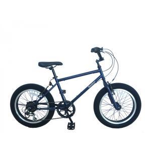 自転車 ファットバイク 外装6段変速 ファットバイクバンバリ FAT BIKE BMX 20インチ 自転車|chalinx