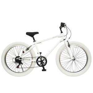 【本州送料無料】 26インチ バンバリ ファットバイク ビーチクルーザー 6段変速 スポーツ自転車 マウンテンバイク風 QR