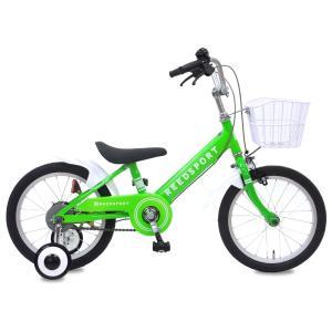 幼児用自転車 補助輪 自転車 14インチ 16...の詳細画像2