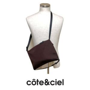 cote&ciel コートエシエル INN-SMALL 28801 ショルダーパック MOUNTAIN Ore Red (バーガンディー)|chambray-store