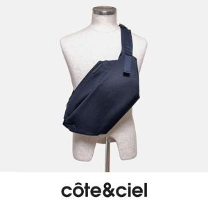 cote&ciel コートエシエル ISARAU 28743 ボディパック- BALLISTIC Blue (ダーク・ブルー)|chambray-store