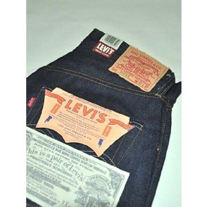 LEVI'S VINTAGE CLOTHING リーバイス ヴィンテージ クロージング LVC 501XX 1955 オリジナル デニム 【米国製】 chambray-store