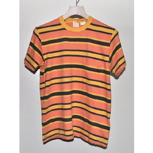 LEVI'S VINTAGE CLOTHING リーバイス ヴィンテージ クロージング LVC 1960's STRIPED Tシャツ GOLDEN 【ポルトガル製】*SALE 30%OFF chambray-store