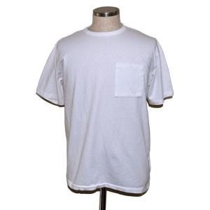 BODYGARD BINDER GLASSES POCKET REGULAR TEE ボディーガード ポケット Tシャツ ホワイト chambray-store