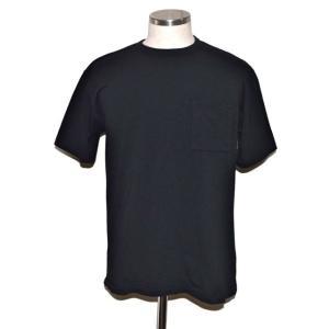 BODYGARD BINDER GLASSES POCKET REGULAR TEE ボディーガード ポケット Tシャツ ブラック chambray-store