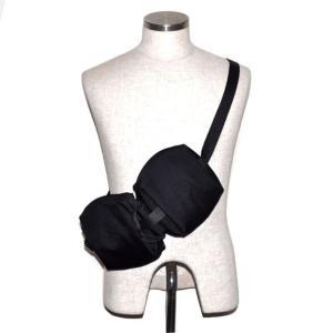 cote&ciel コートエシエル 2019 新作 EMS 28767  ボディーバック BALLISTIC BLACK(ブラック)|chambray-store