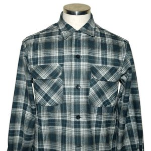PENDLETON ペンドルトン BOARD CL Fit オンブレ チェック シャツ Green Ombre Check|chambray-store