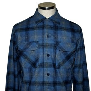 PENDLETON ペンドルトン BOARD CL Fit オンブレ チェック シャツ Blue Ombre Check|chambray-store