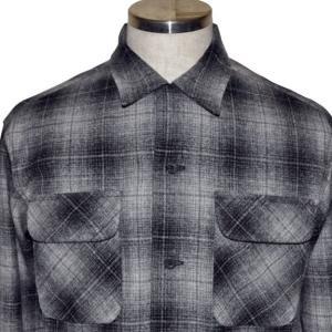 PENDLETON ペンドルトン 2020AW 新作 BOARD CL Fit オンブレ チェック シャツ Grey x Black x Tan Ombre Check|chambray-store