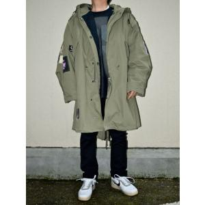 2020AW新作 RAF SIMONS x FRED PERRY ラフ・シモンズ x フレッドペリー SJ9027 DETACHABLE LINER PARKA OLIVE オリーブ|chambray-store