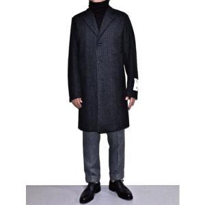 Traditional Weatherwear x Fox Brothers トラディショナル・ウェザーウェアー DOVER FOX FLANNEL ウール・コート D.グレーミックス *SALE 50%OFF chambray-store