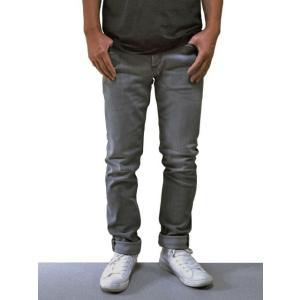 DENHAM デンハム ジーンズ・メーカー RAZOR 3YG スリム・フィット WASH DENIM ストレッチ デニム (グレー系)|chambray-store