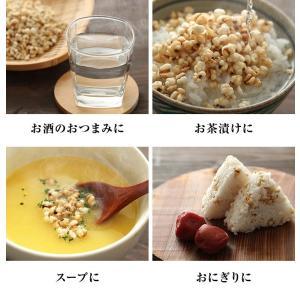 はとむぎ そのまま食べる はと麦 ハトムギ スナック 100g 送料無料 はとむみ 煎り 焙煎 美容 健康 ヨクイニン はと麦茶 はとむぎ茶 国内製造|chamise|04