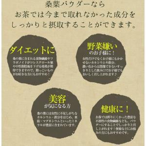 桑の葉茶 国産 粉末 50g 送料無料 桑 青汁 熊本県産 パウダー 健康茶 chamise 08