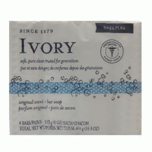 (IVORY)アイボリー化粧石鹸 バスサイズ オリジナル 113g×4個入 champion-drug