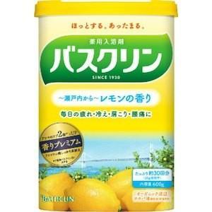 バスクリン レモンの香り 600g(30回分)|champion-drug