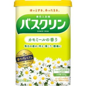 バスクリン カモミールの香り 600g(30回分)|champion-drug