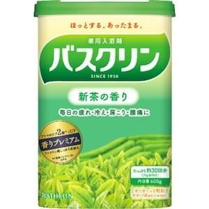 バスクリン 新茶の香り 600g(30回分)|champion-drug