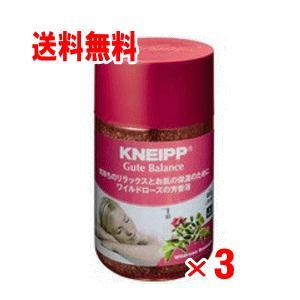 【送料無料】クナイプ バスソルト ワイルドローズの香り  850g×3個セット|champion-drug