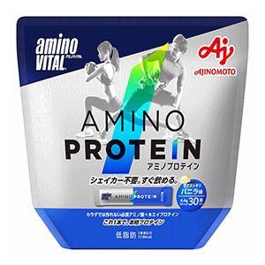 (味の素)アミノバイタル アミノプロテイン バニラ風味 30本入(パウチ)