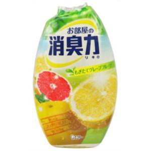 (エステー)お部屋の消臭力 グレープフルーツ 400ml(芳香・消臭剤)|champion-drug