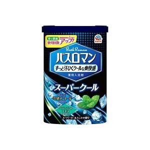 【アース製薬】【バスロマン】バスロマン スーパークール 600g 【入浴剤】|champion-drug