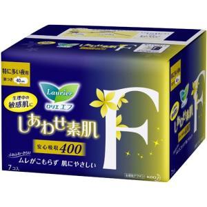 花王 ロリエ エフ しあわせ素肌 特に多い夜用 羽つき 40cm 7コ入|champion-drug