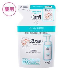 (花王) キュレル 泡洗顔料 つめかえ用 130ml(セラミド)(乾燥性敏感肌)|champion-drug