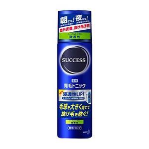 (花王)サクセス 育毛トニック 微香性 180g(抜け毛予防)(育毛剤)|champion-drug