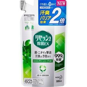 花王 リセッシュ 除菌EX グリーンハーブの香り  つめかえ 320ml|champion-drug