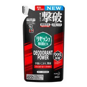花王 リセッシュ 除菌EX デオドラントパワー ワイルドオークの香り つめかえ 310ml|champion-drug