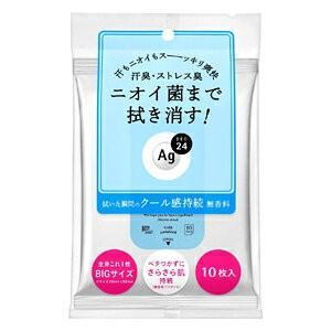 【資生堂】エージーデオ24 クリアシャワーシート クール 10枚 champion-drug