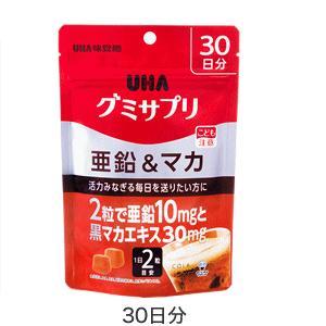 UHA味覚糖 UHAグミサプリ 亜鉛&マカ 60粒(30日分)|champion-drug